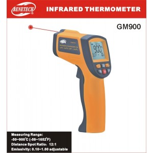 Infrared Thermometer GM900 with laser aimpoint